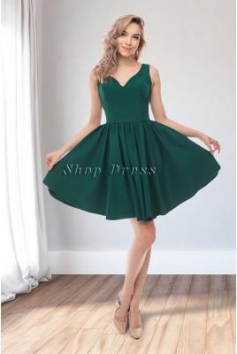 Коктейльное открытое платье Valeria DM-1056