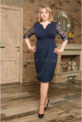 Коктейльное платье-футляр Irina DM-957