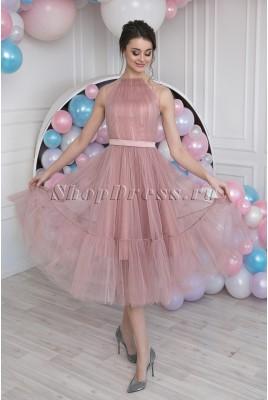 Короткое выпускное платье Fabiana DM-985
