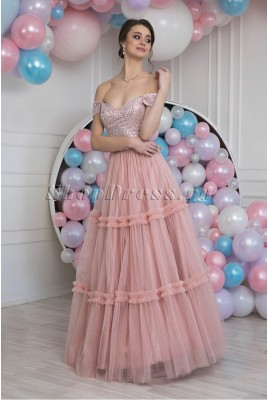 Evening puffy dress Eliza DM-990
