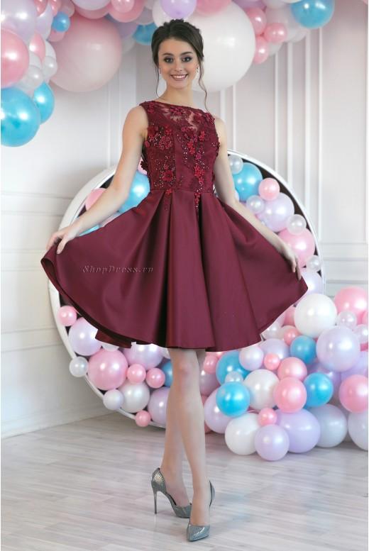 Короткое вечернее платье Lexi DM-991
