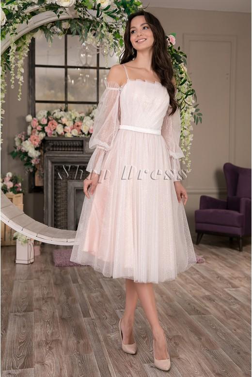 Выпускное короткое платье Bozen DM-1025