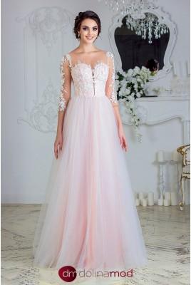 Вечернее платье с рукавами Beatrice VM-879