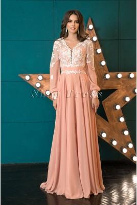 Вечернее платье в пол Madeline DM-1041