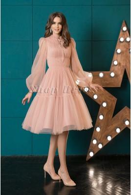Коктейльное платье из фатина Yesenia DM-1044