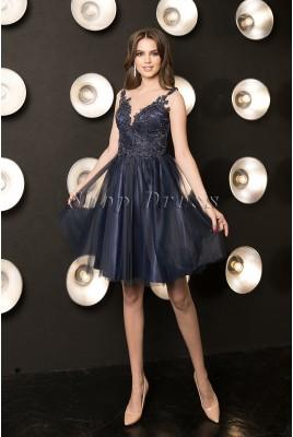 Короткое платье из фатина Ulyana DM-1046