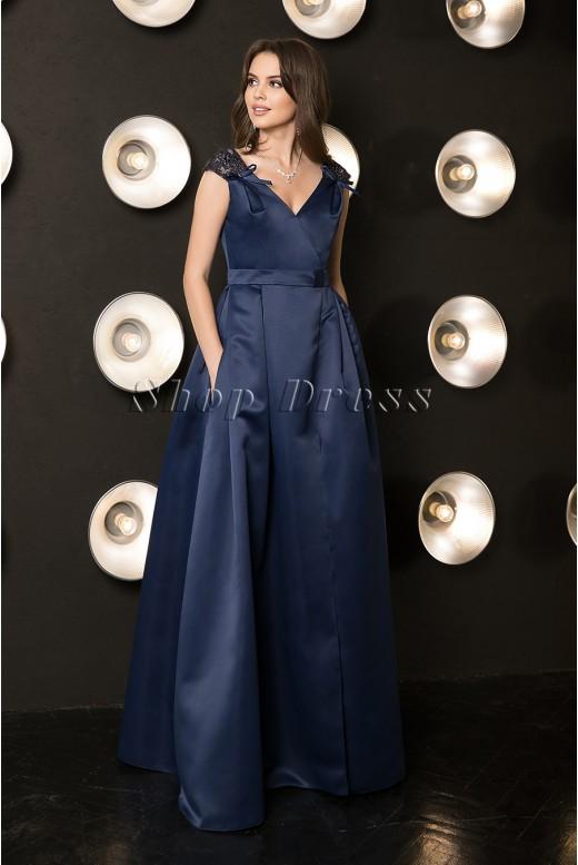 Вечернее длинное пышное платье Irma DM-1048
