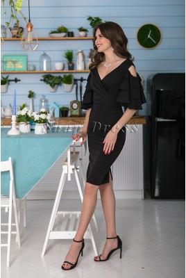 Коктейльное платье с открытыми плечами Veronica DM-1050