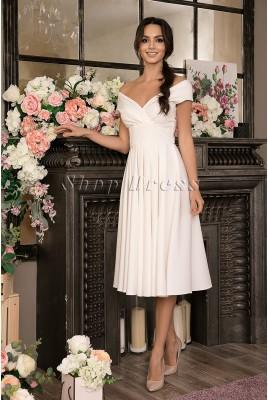Yvette MS-1033 Midi Wedding Dress