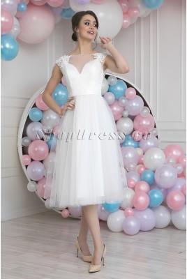 Свадебное платье миди Jaqueline MS-962