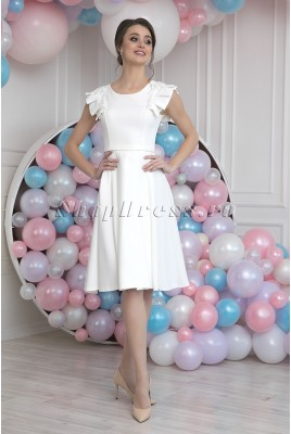 Short wedding dress Amy MS-986