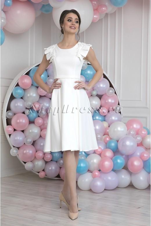 Короткое свадебное платье Amy MS-986