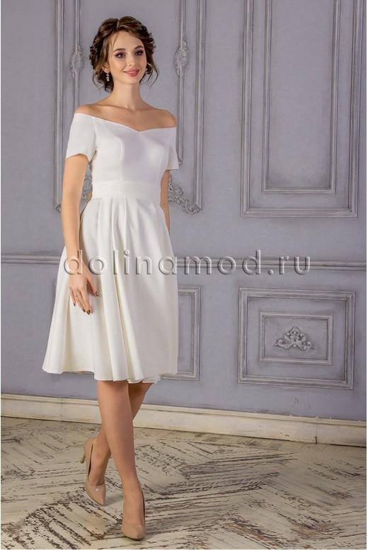 Свадебное платье короткое Natali MS-855