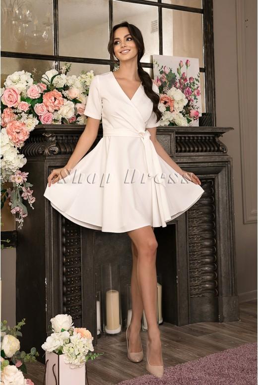 Короткое свадебное платье Amber MS-1004