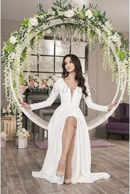 Wedding dress with long sleeves Astra MS-1017