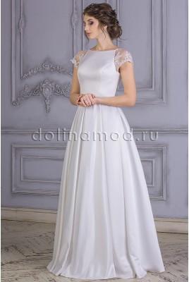Wedding dress with sleeves-Raglan Margarita CM-861