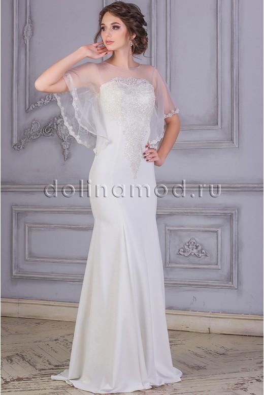 Свадебное платье с рукавами Amelia MS-868
