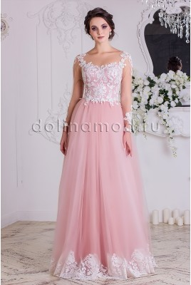 Вечерне платье с рукавами СM-869