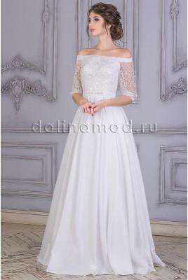 Свадебное платье с рукавами Britni MS-875