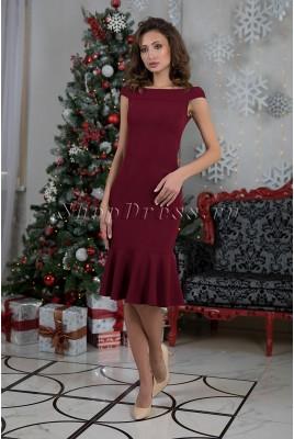 Вечернее облегающее платье миди Ingeborg DM-1014