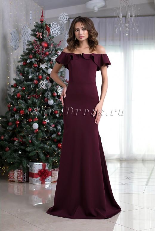 Длинное вечернее платье рыбка Constance DM-1024