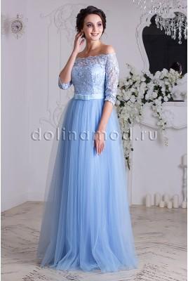 Вечернее платье с рукавами Anastasia DM-837