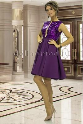 Коктейльное платье Alisa DM-851