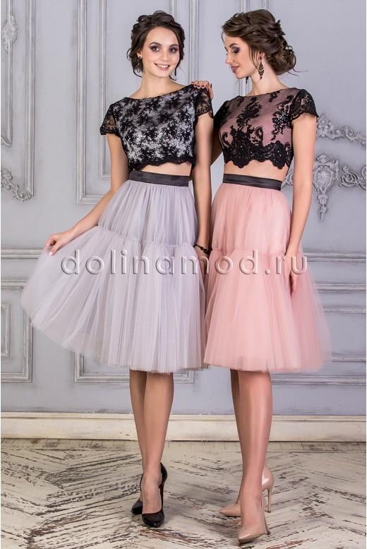 Porm dress crop top DM-859