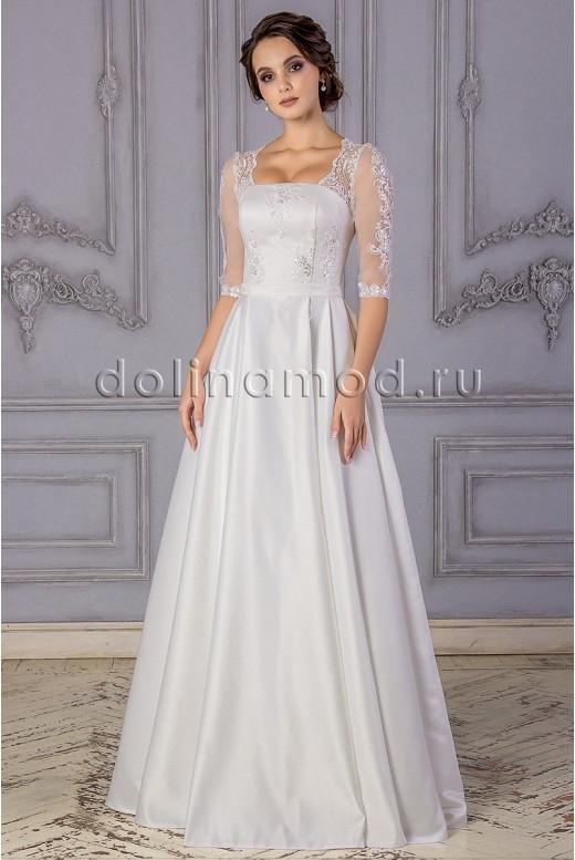Wedding dress with sleeves Gabriela DM-882