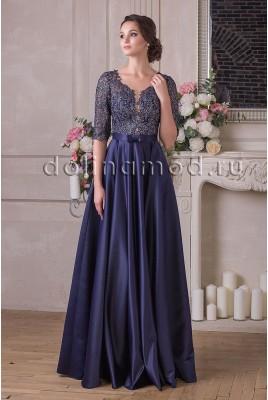 Evening dress with sleeves Amalia DM-898