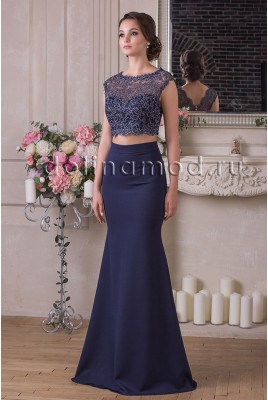 Вечернее платье кроп топ Lydia DM-927