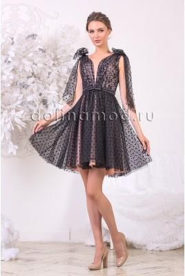 Коктейльное платье Lilu DM-942