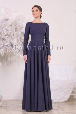 Вечернее платье с рукавами Megan DM-954