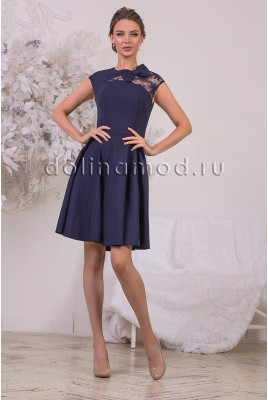 Коктейльное платье Aurora DM-959