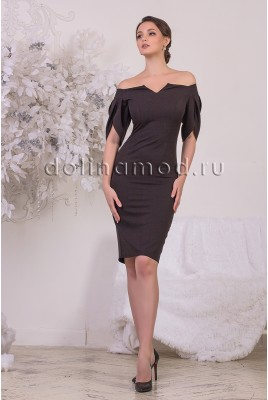 Коктейльное платье-футляр Stella DM-969