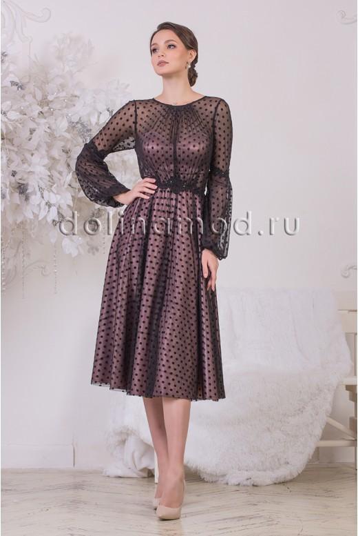 Коктейльное платье Polina DM-972
