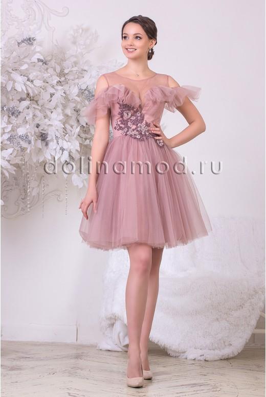 Коктейльное платье Camilla DM-973