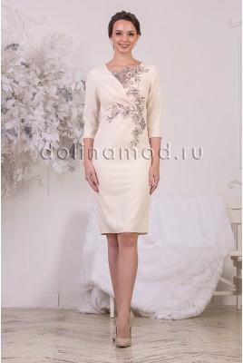 Коктейльное платье-футляр Sarah DM-976