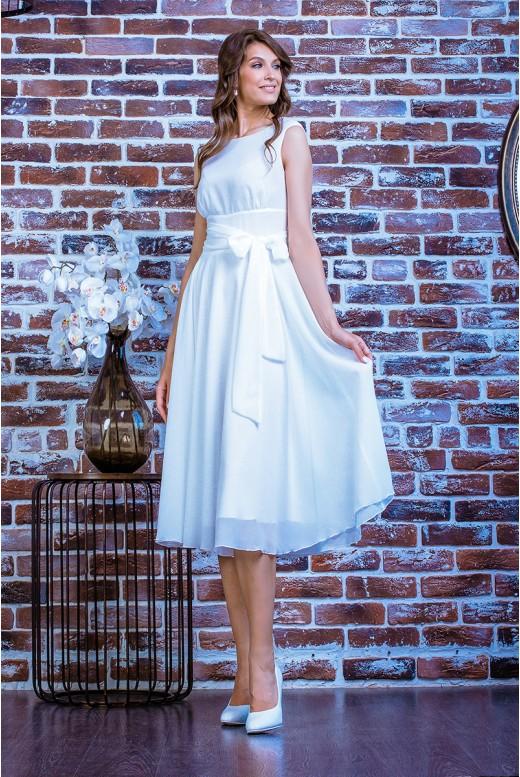Короткое свадебное платье Chloe MS-1006