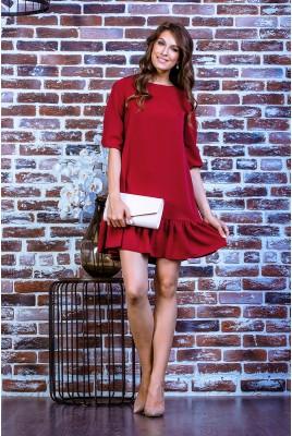 Короткое повседневное платье SD-7002