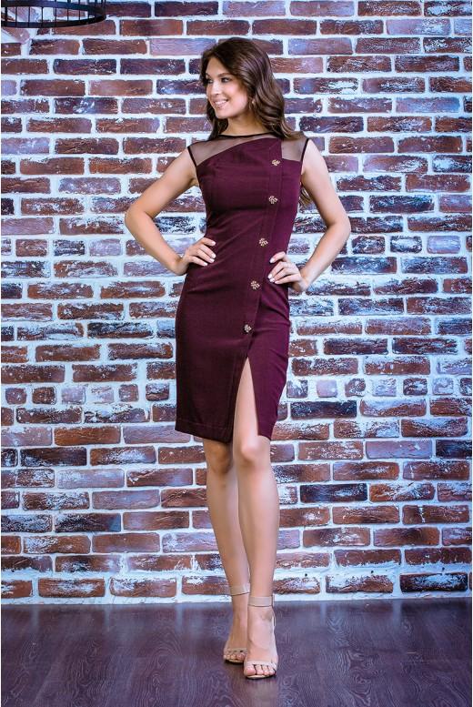 Короткое повседневное платье SD-7003