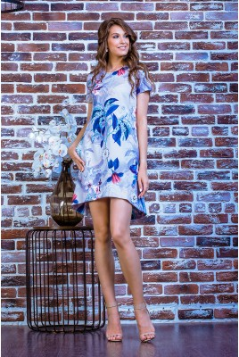Короткое повседневное платье SD-7006