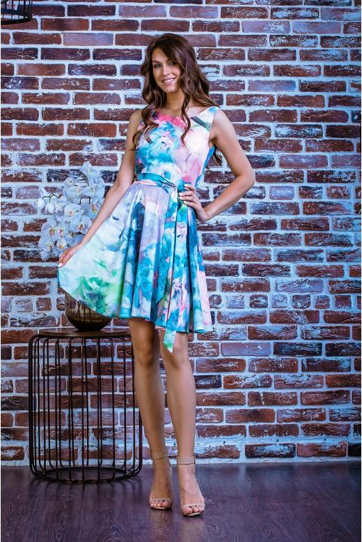 Короткое повседневное платье SD-7008