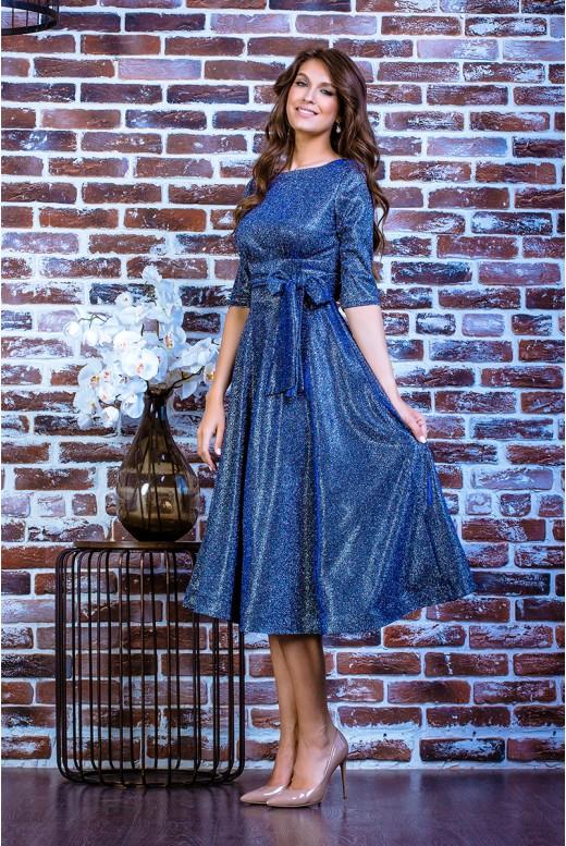 Короткое вечернее платье SD-7011