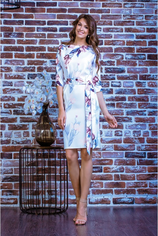 Короткое повседневное платье SD-7012