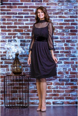 Коктейльное платье SD-7013