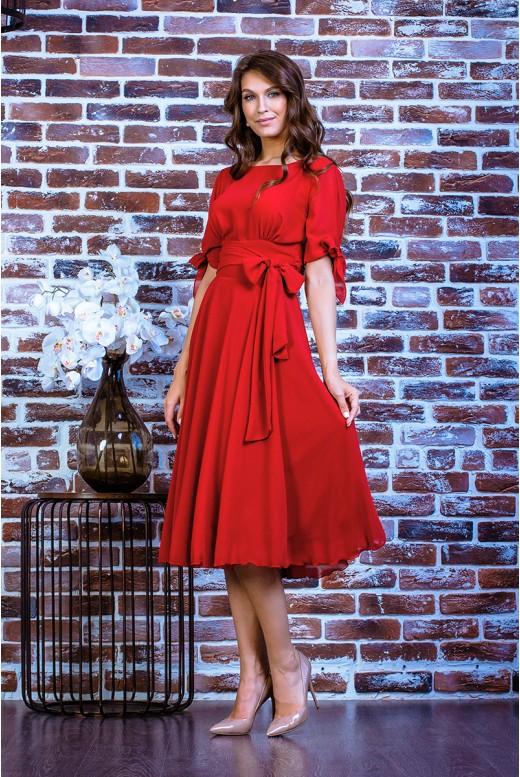 Короткое вечернее платье SD-7016