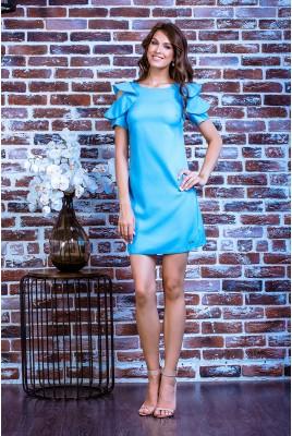 Короткое повседневное платье SD-7018