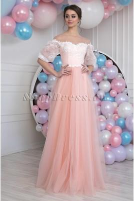 Вечернее платье с рукавами Daisy DM-988