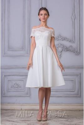 Короткое свадебное платье Adriana MS-941